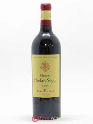 Château Phélan Ségur  2003 - Lot de 1 Bottle