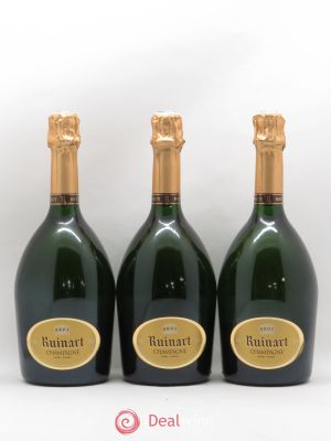Brut Ruinart  ---- - Lot de 3 Bottles
