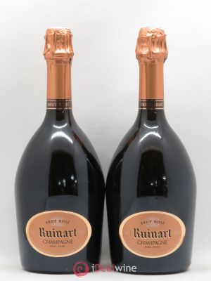 Brut Rosé Ruinart  ---- - Lot de 2 Bottles