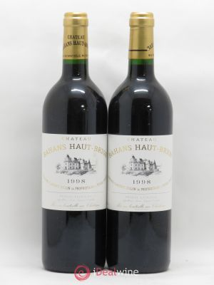 Clarence (Bahans) de Haut-Brion Second Vin  1998 - Lot de 2 Bottles