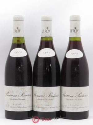 Beaune 1er Cru Perrieres Leroy SA 1985 - Lot de 3 Bottles