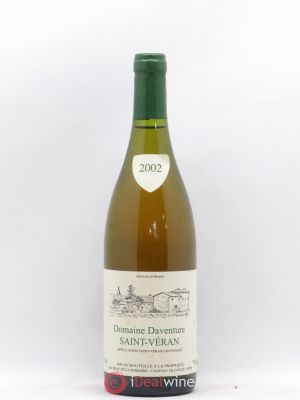 Saint-Véran Domaine Daventure 2002 - Lot de 1 Bottle