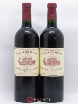 Pavillon Rouge du Château Margaux Second Vin  2004 - Lot de 2 Bottles