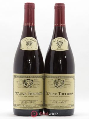 Beaune 1er Cru Theurons Louis Jadot 2013 - Lot de 2 Bottles