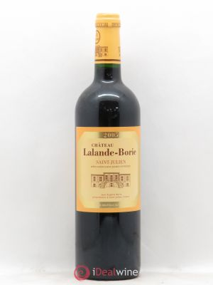 Château Lalande Borie Cru Bourgeois  2005 - Lot de 1 Bottle