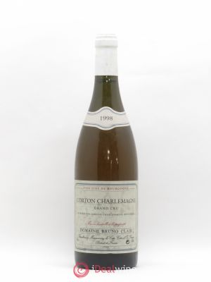 Corton-Charlemagne Grand Cru Bruno Clair (Domaine)  1998 - Lot de 1 Bottle