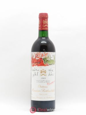 Château Mouton Rothschild 1er Grand Cru Classé  1989 - Lot de 1 Bottle