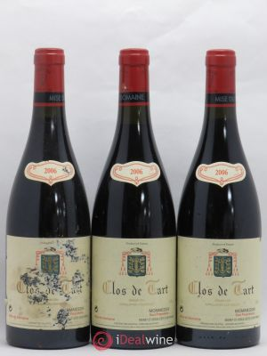 Clos de Tart Grand Cru Mommessin  2006 - Lot de 3 Bottles