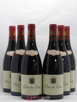 Clos de Tart Grand Cru Mommessin  2008 - Lot de 6 Bottles