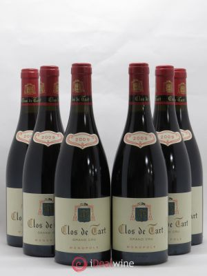 Clos de Tart Grand Cru Mommessin  2009 - Lot de 6 Bottles