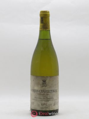 Corton-Charlemagne Grand Cru Bonneau du Martray (Domaine)  1992 - Lot de 1 Bottle