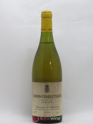 Corton-Charlemagne Grand Cru Bonneau du Martray (Domaine)  1990 - Lot de 1 Bottle