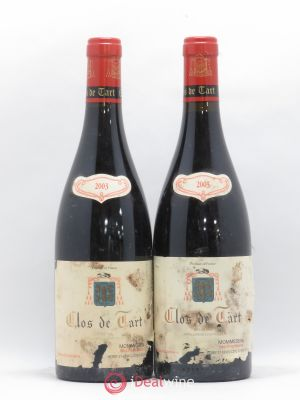 Clos de Tart Grand Cru Mommessin  2003 - Lot de 2 Bottles