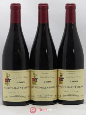Morey Saint-Denis Village Jerome Castagnier 2008 - Lot de 3 Bouteilles
