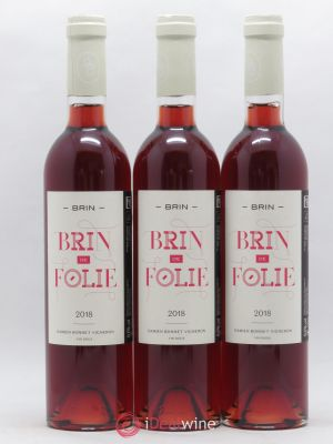 Vin de France Brin de Folie D Bonnet Vin Doux 50cl 2018 - Lot de 3 Bottles