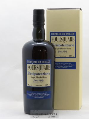 Rhum Foursquare 12 years 2007 Of. Plenipotenziario
