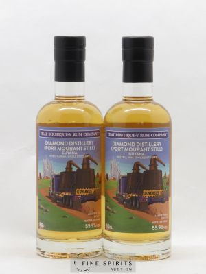 Rhum Diamond Distillery 9 years That Boutique-Y Rum Company Port Mourant Still N°43 ET N°65 50CL