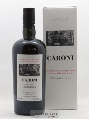 Rhum Caroni 16 years 1998 Velier 32nd Release Full Proof Heavy