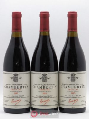 Chambertin Grand Cru Jean et Jean-Louis Trapet  1995 - Lot de 3 Bottles