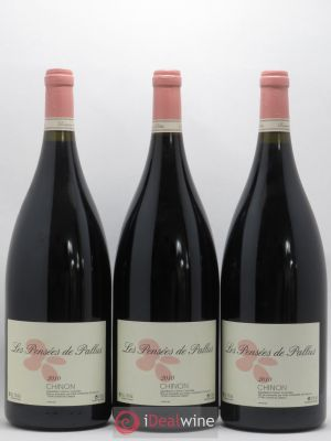 Chinon Les Pensees De Pallus Domaine De Pallus 2010 - Lot de 3 Magnums