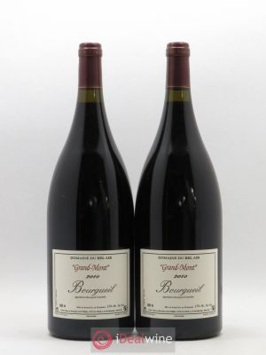 Bourgueil Grand Mont Domaine du Bel Air  2010 - Lot de 2 Magnums