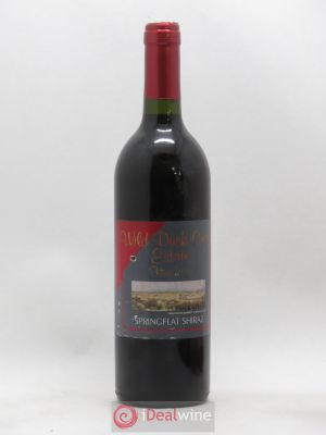 Australie Wild Duck Creek Springflat Heathcote Shiraz (no reserve) (no reserve) 1999 - Lot de 1 Bottle