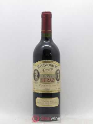 Australie Kay Brothers Block 6 Shiraz (no reserve) 1996 - Lot de 1 Bottle