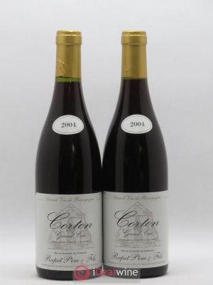 Corton Grand Cru Domaine Rapet 2004 - Lot de 2 Bottles