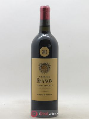 Château Branon  2016 - Lot de 1 Bottle