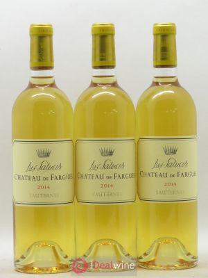 Château de Fargues  2014 - Lot de 3 Bottles