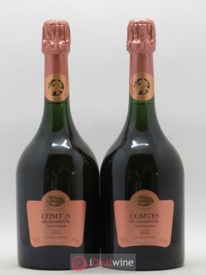 Comtes de Champagne Taittinger  2004 - Lot de 2 Bottles