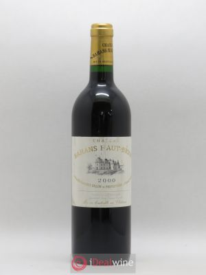 Clarence (Bahans) de Haut-Brion Second Vin  2000 - Lot de 1 Bouteille