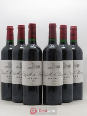 Chapelle de Potensac Second Vin  2014 - Lot de 6 Bouteilles