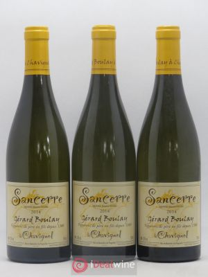 Sancerre Gérard Boulay (Domaine)  2014 - Lot de 3 Bottles