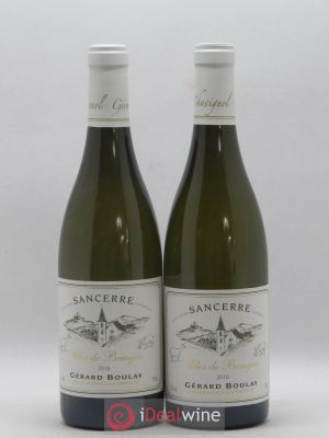 Sancerre Clos de Beaujeu Gérard Boulay (Domaine)  2016 - Lot de 2 Bottles