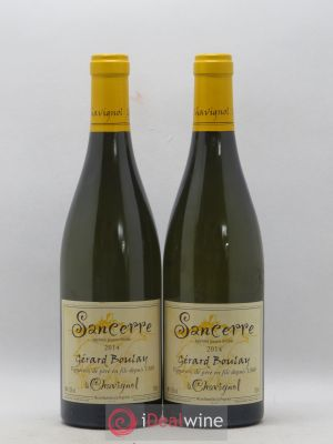Sancerre Gérard Boulay (Domaine)  2014 - Lot de 2 Bottles
