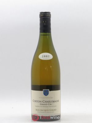 Corton-Charlemagne Grand Cru Domaine Jean-Jacques Girard 2007 - Lot de 1 Bouteille