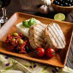 Pavé de thon grillé à la provençale