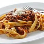 Tagliatelles sauce bolognaise