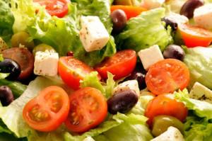 Salade mixte à la grecque